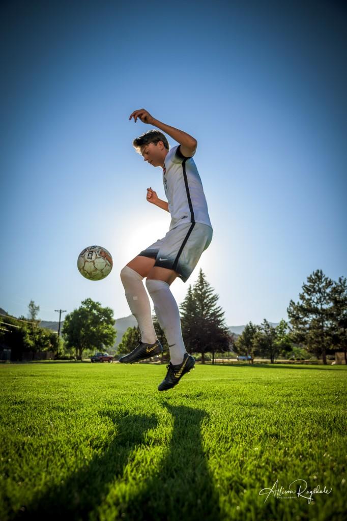 Soccer senior photos