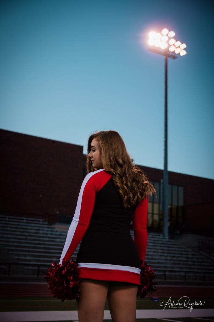 Cheerleading senior pictures