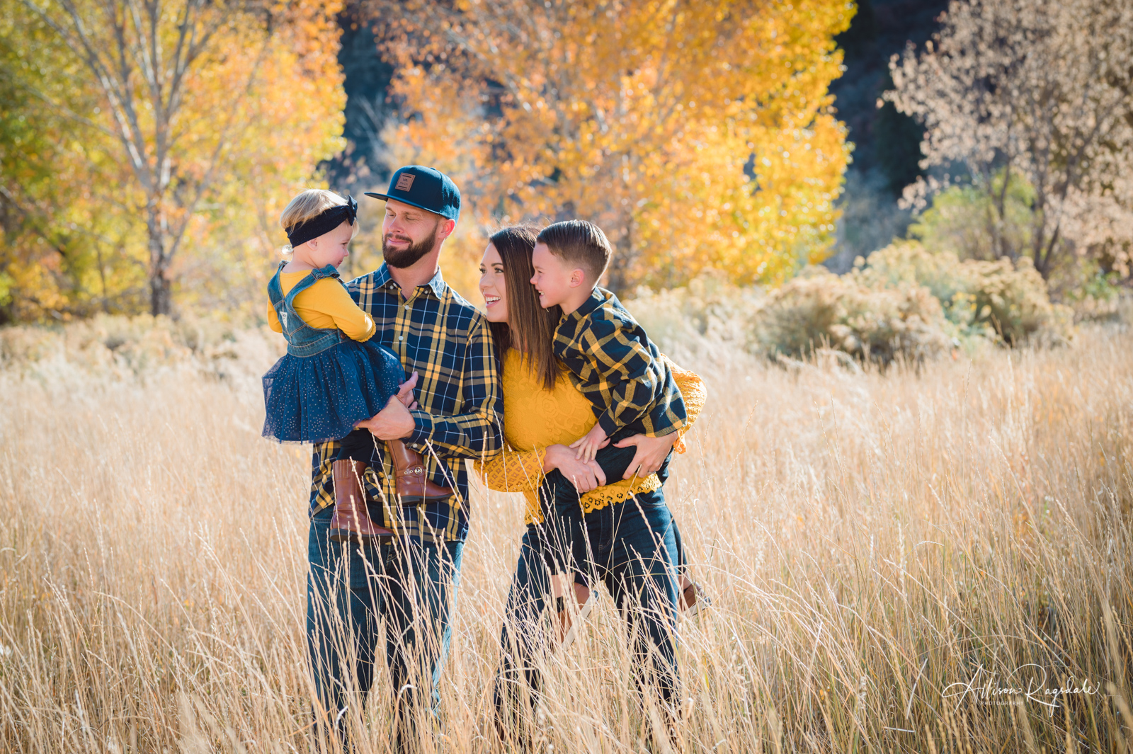 Cute fall family photos