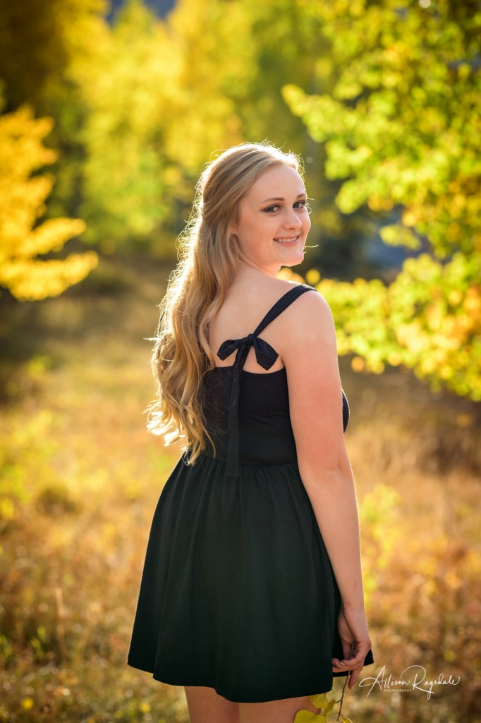 Pretty senior photos in Durango