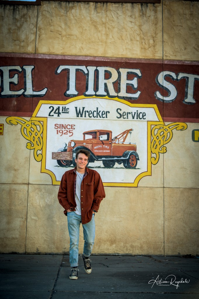 Cool senior pictures in Durango