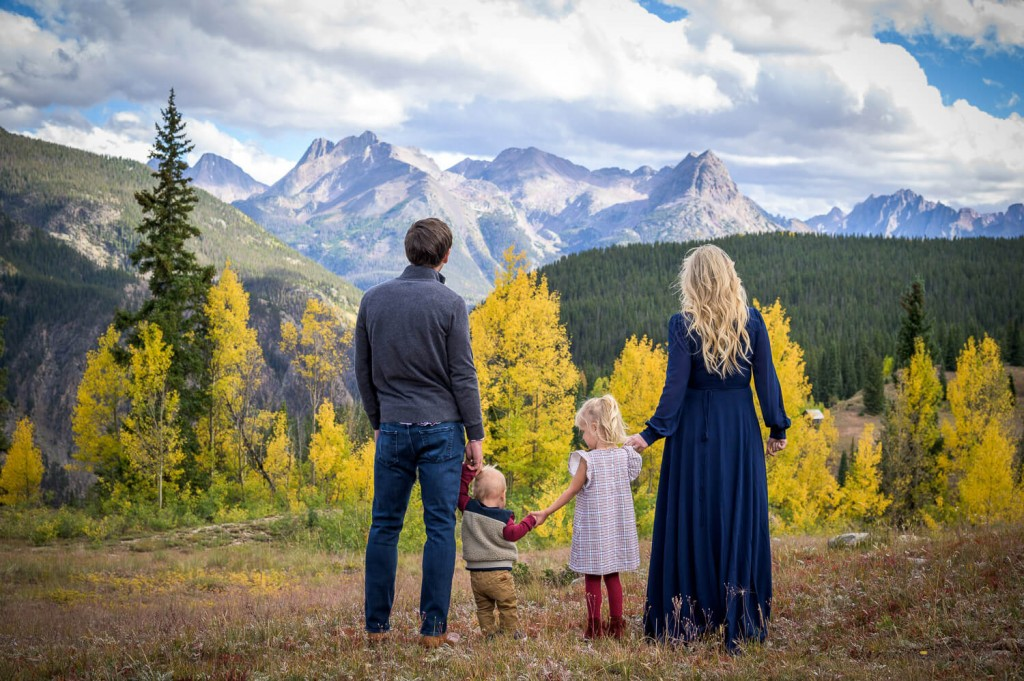 Family portraits in Durango Colorado and surrounding areas