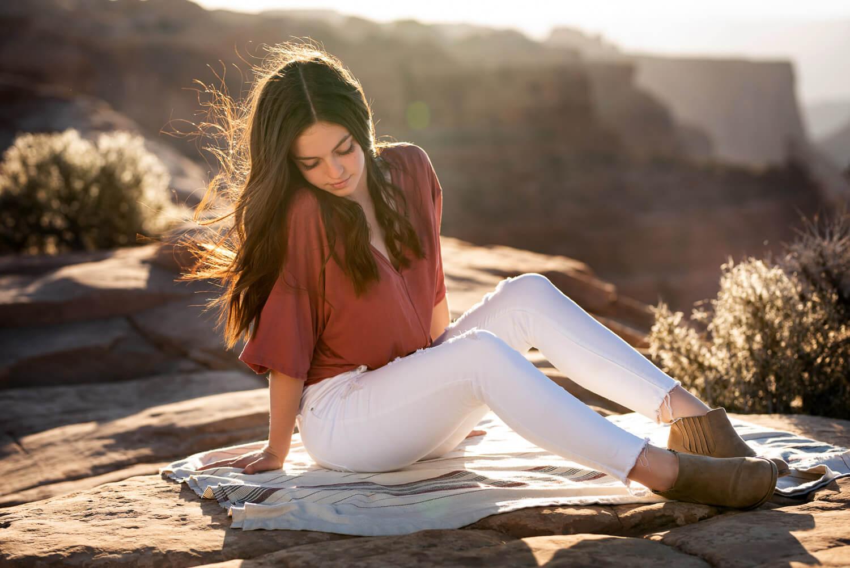 Senior pictures by Allison Ragsdale in Durango Colorado