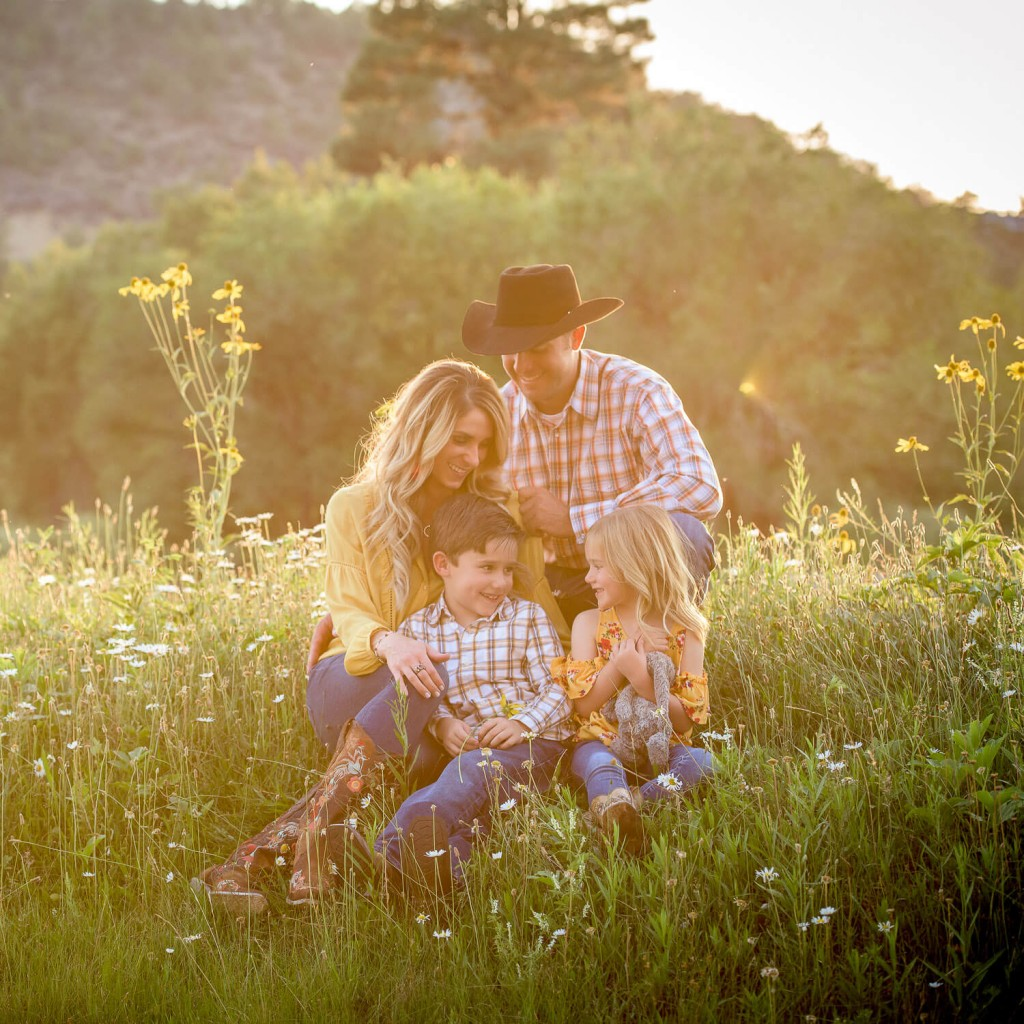 Family pictures in Durango, Colorado