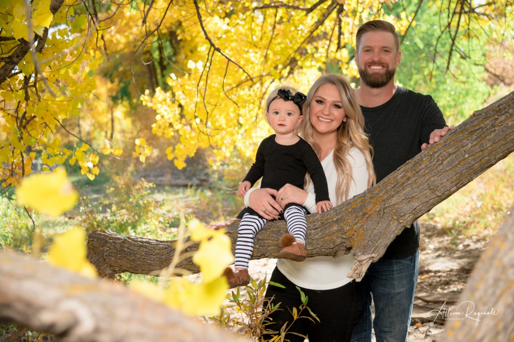 Fall family pictures in Durango
