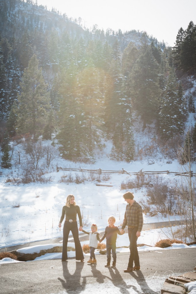 Cute family photos in Durango, CO