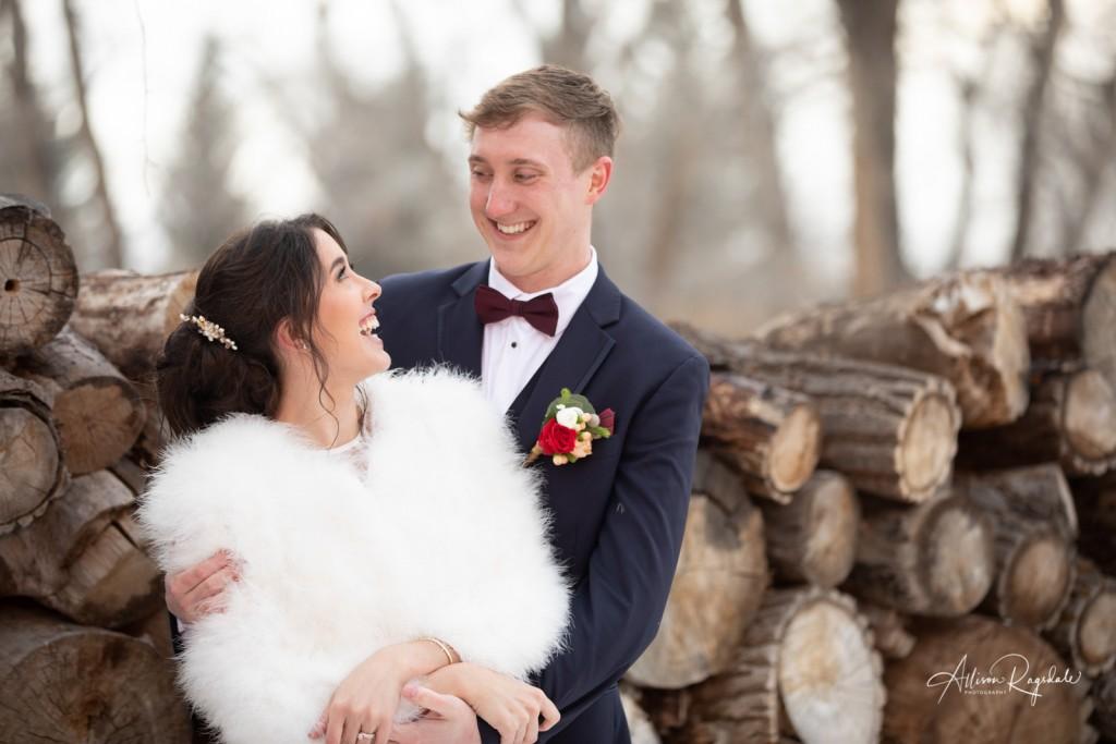 Cute newly-wed photos