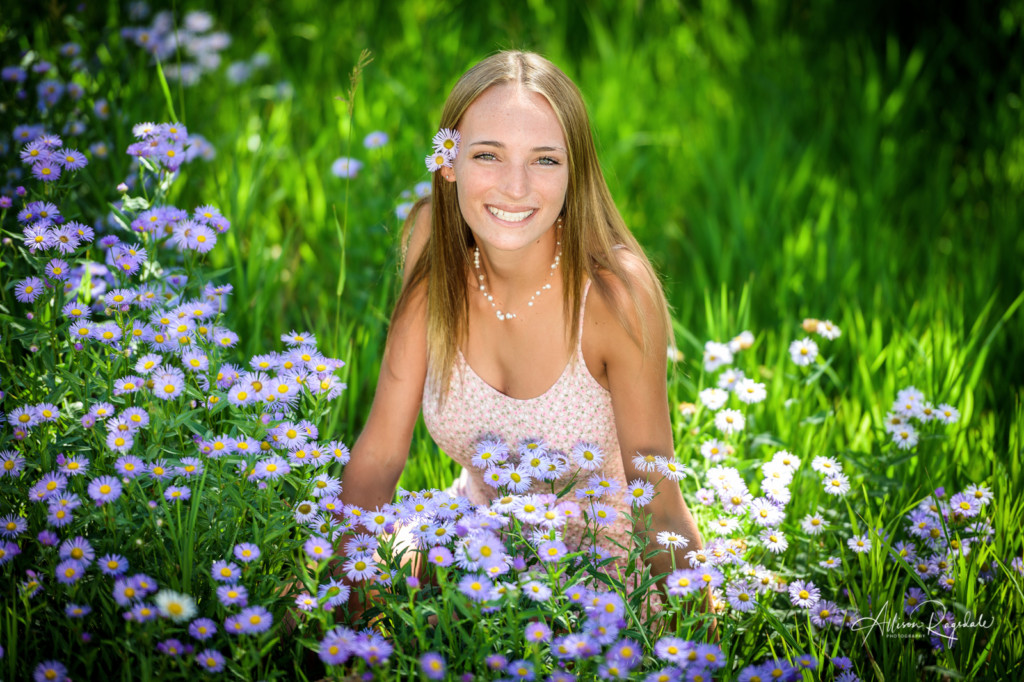 Wildflower senior pictures