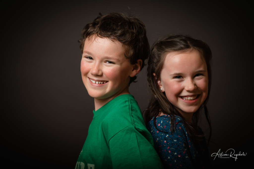 Sibling photos in Durango