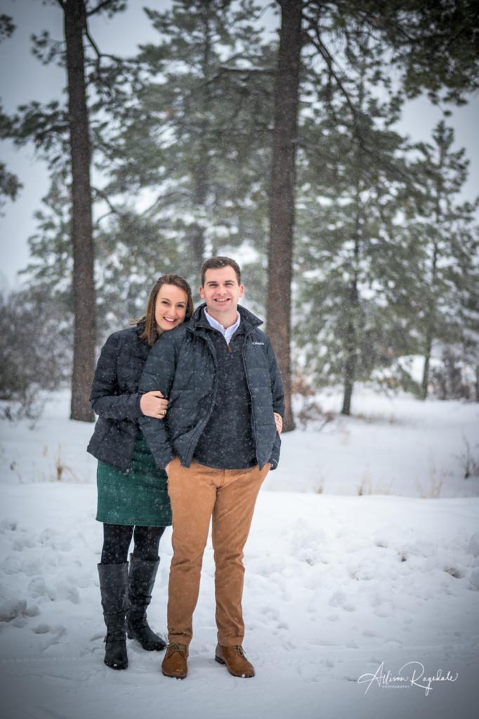 Winter engagements in Durango