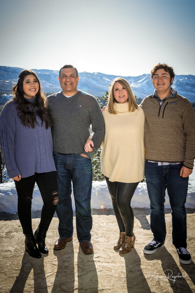 Family photos in Durango