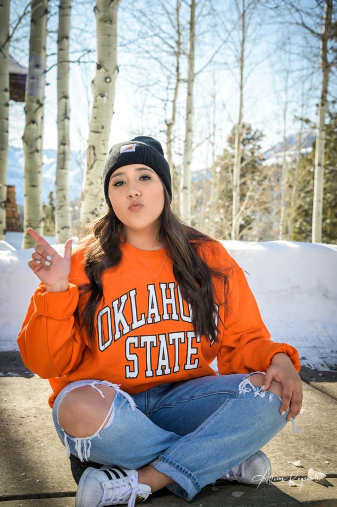 Senior pictures Oklahoma State University