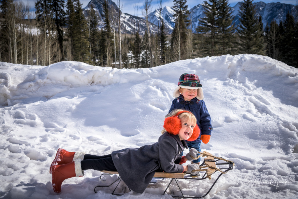 Goedken Family Winter Photos - Durango, CO