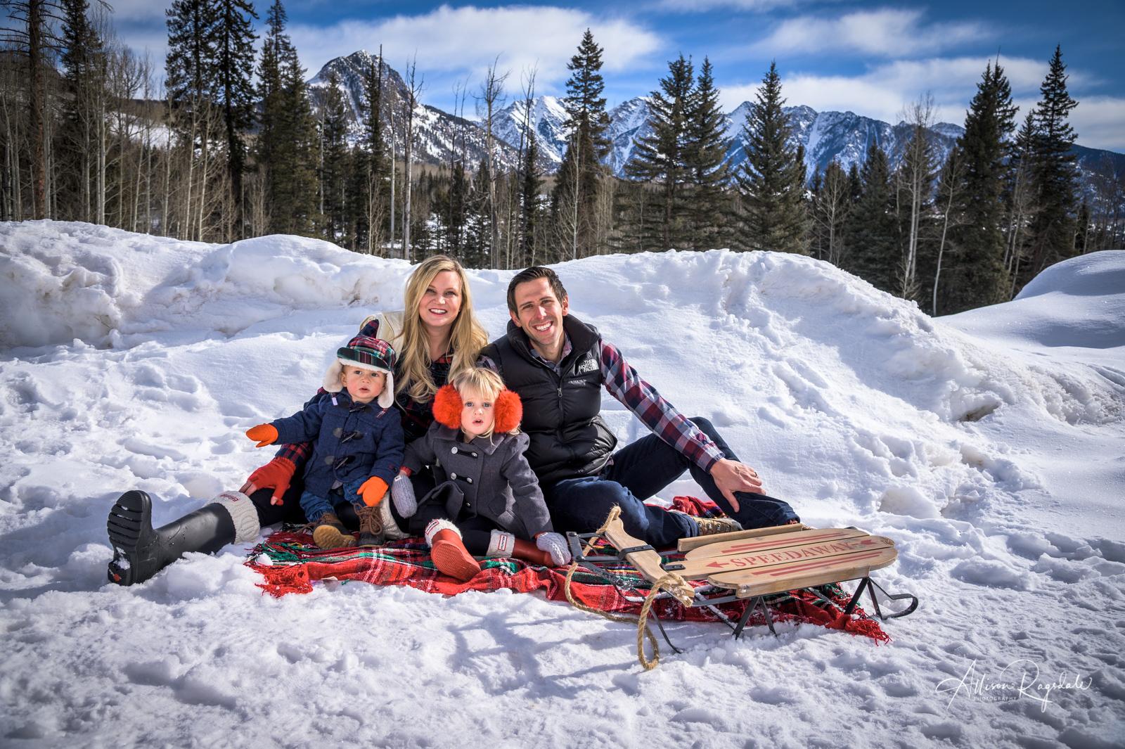 Goedken Family Winter Photos