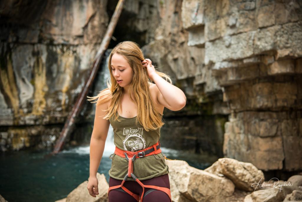 Climbing photos in Colorado