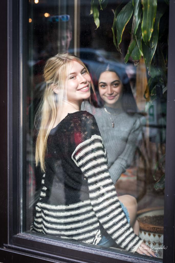 Friend photos at coffee shops