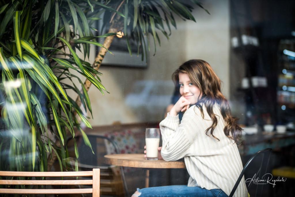 Pretty coffee shop photos