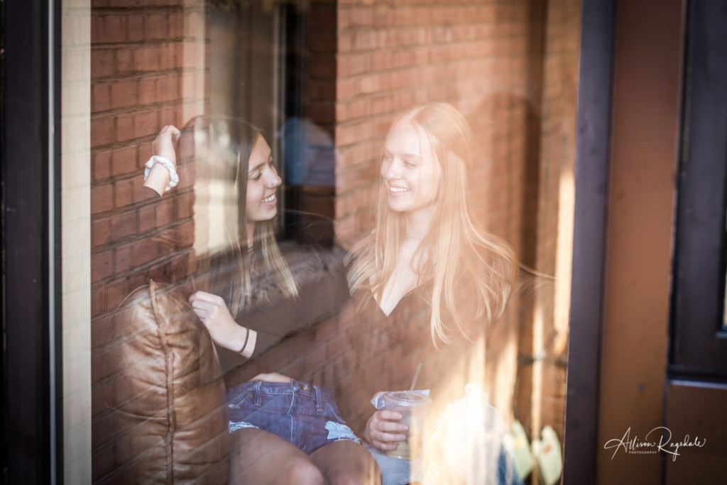 friend pictures through windows