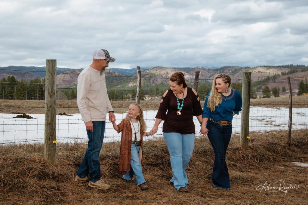 Country family photos