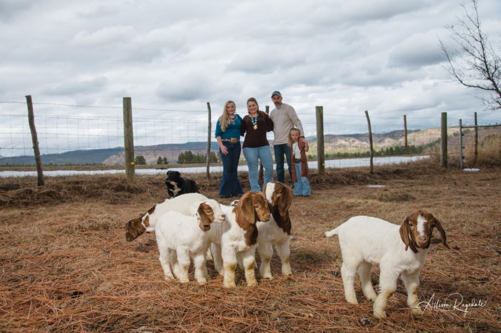 Cute farm family photos