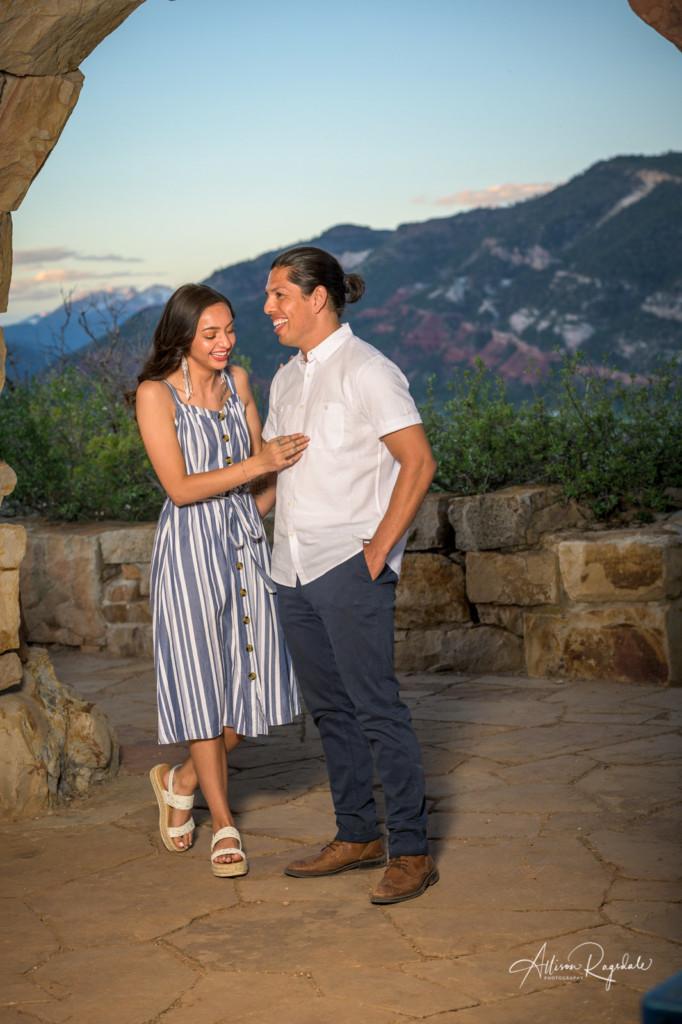 Engagement photos in Durango