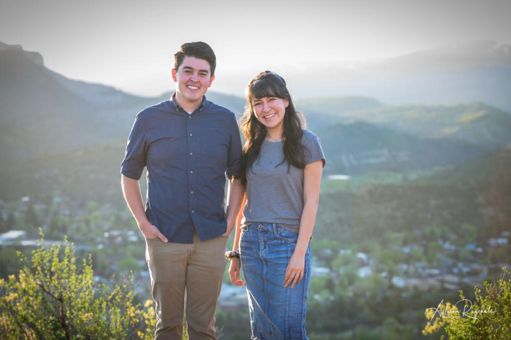 Engagement photos in Durango, CO