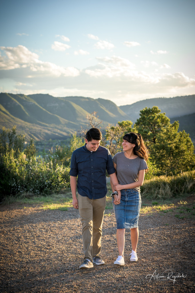 Pretty mountain engagements