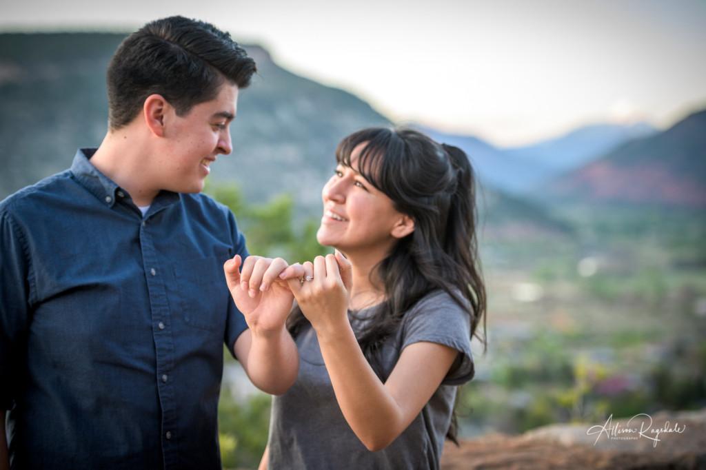 Durango engagement pictures