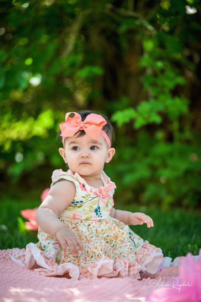 Cute summer baby photos in Durango