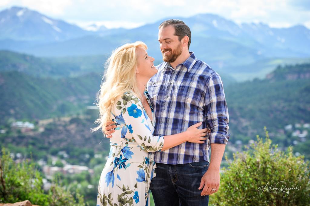 Family photos in Durango