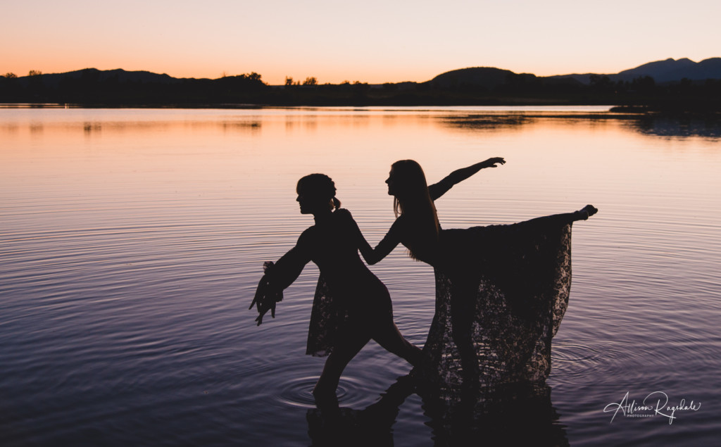 Dancer silhouette photos