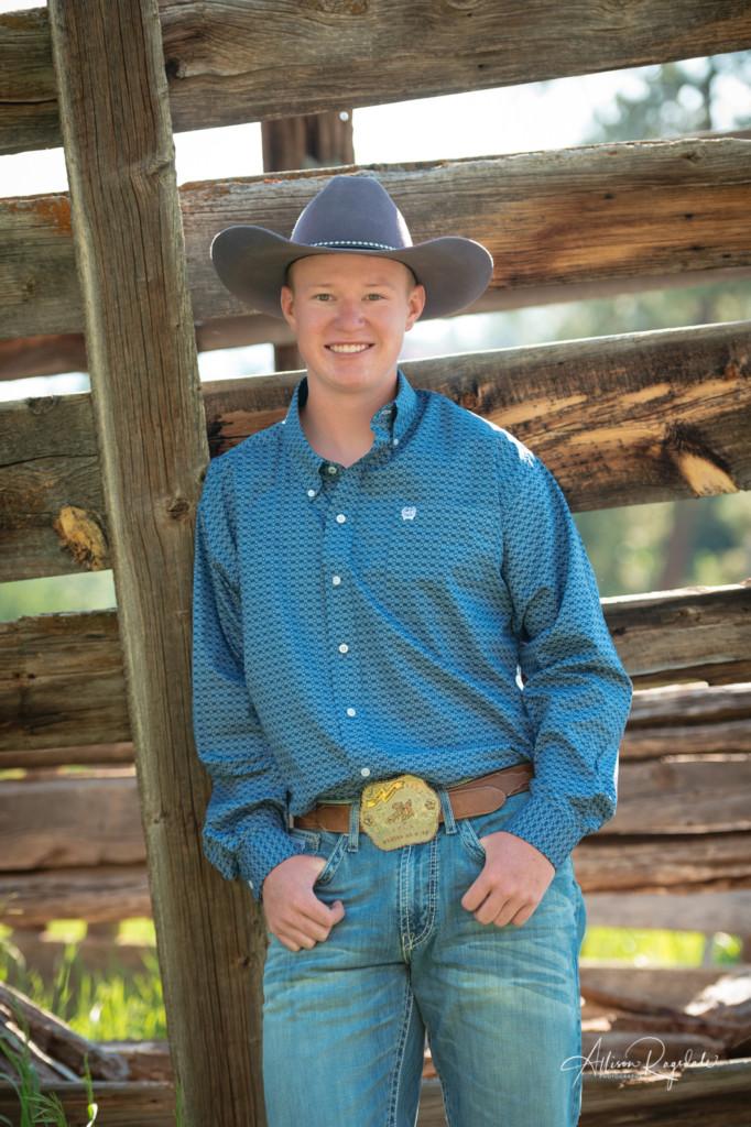 Cowboy senior pictures