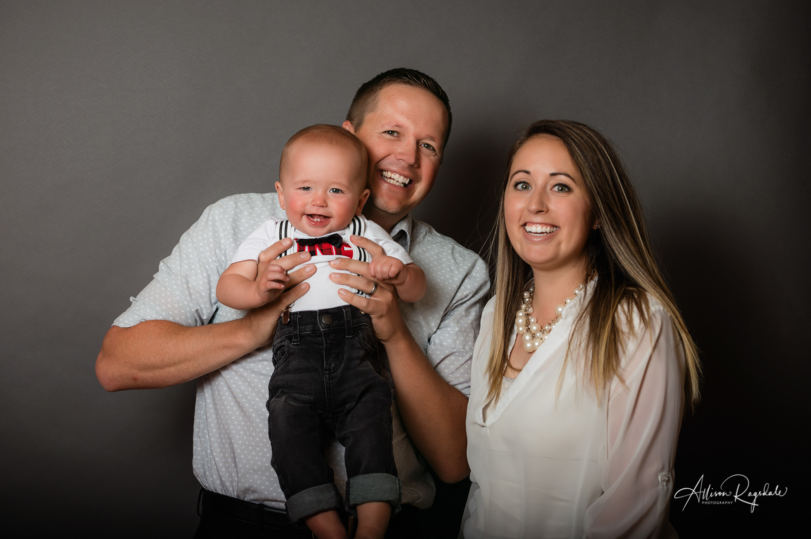 Denier Family & 1 Year Pictures