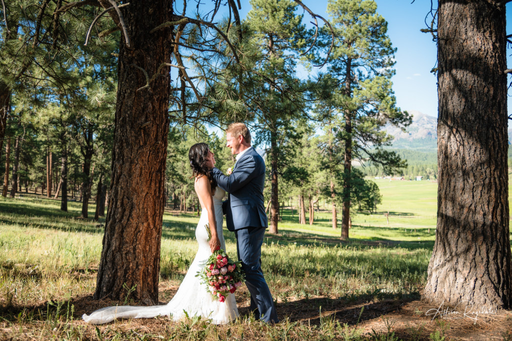 Mountain photo weddings
