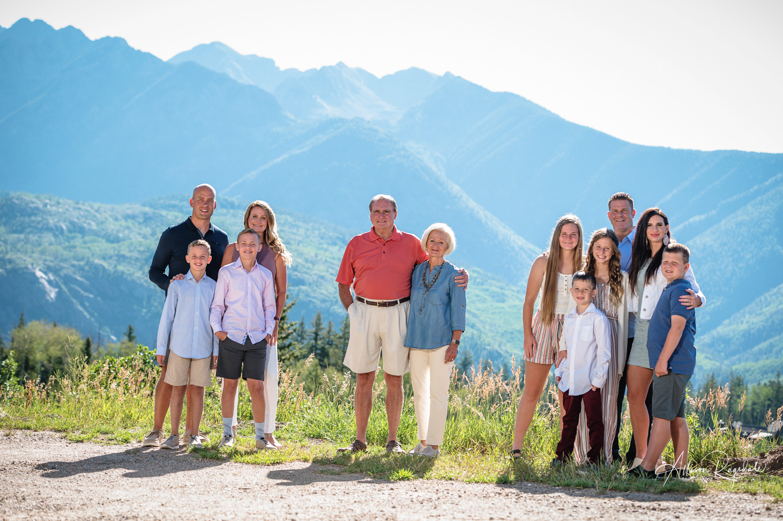 extended family portrait durango co
