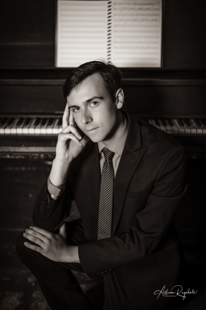 Piano headshots black and white