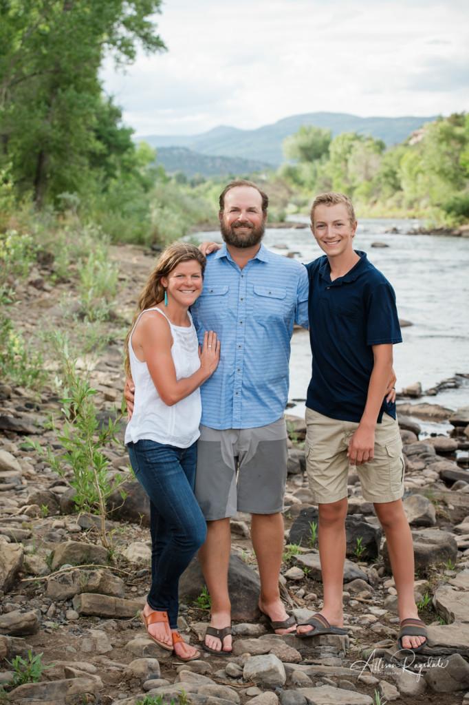 family portrait durango river