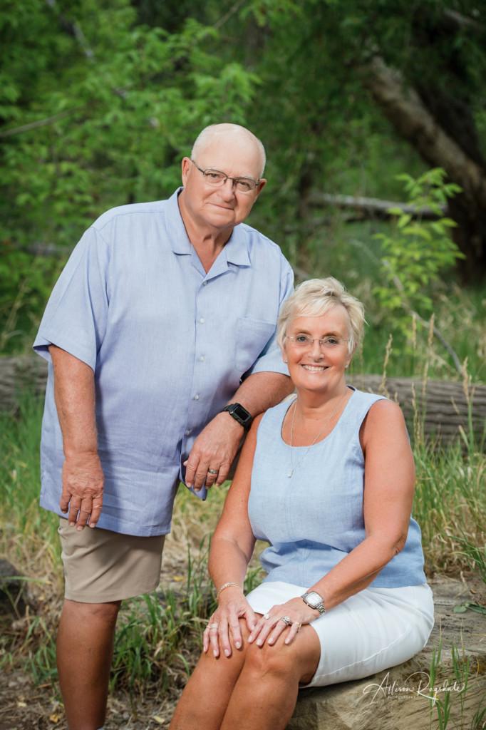 50th anniversary couple portrait