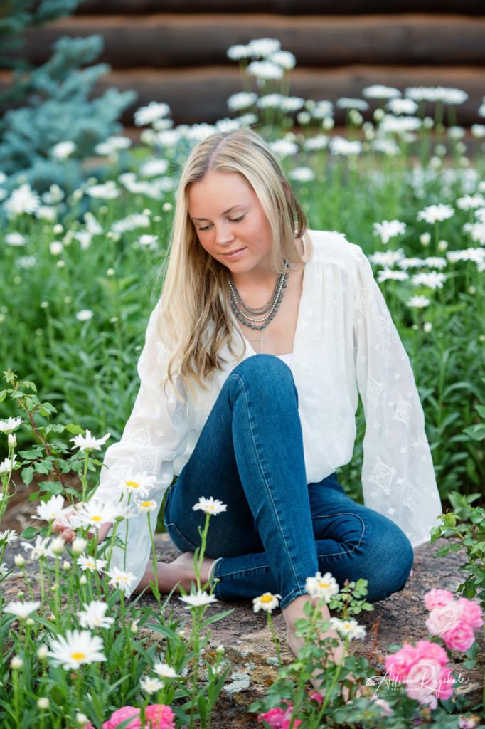 Senior shoot with Allison Ragsdale Photography in Durango Colorado