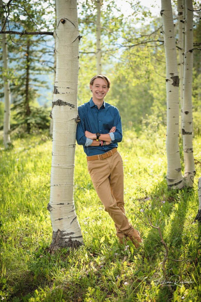 Senior photoshoot with Allison Ragsdale Photography in Durango Colorado