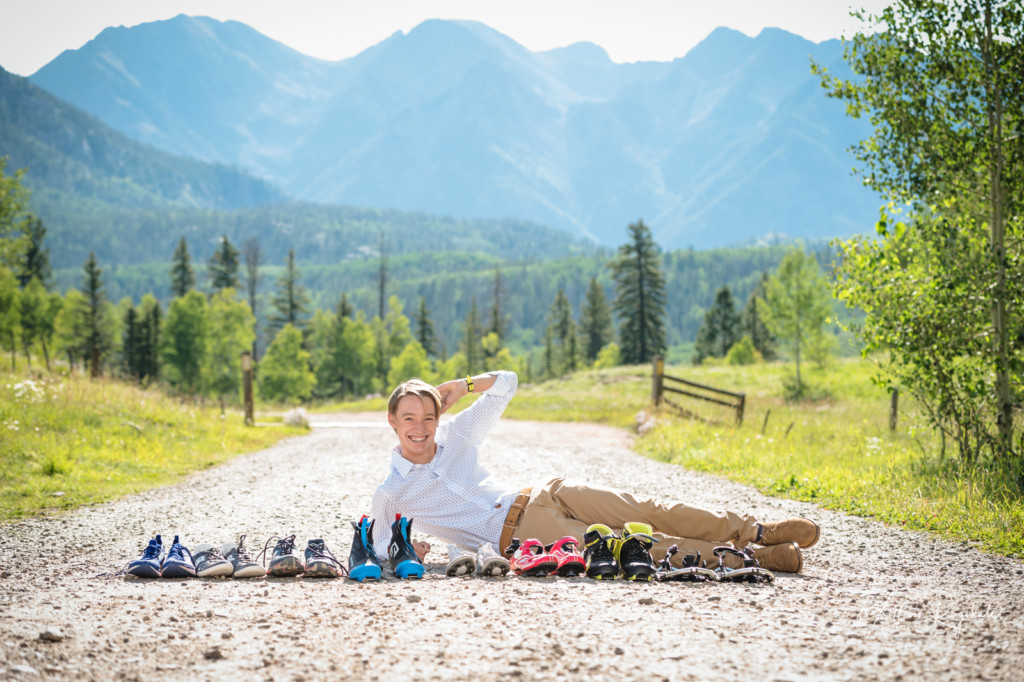 Sporty Senior photoshoot with Allison Ragsdale Photography in Durango Colorado