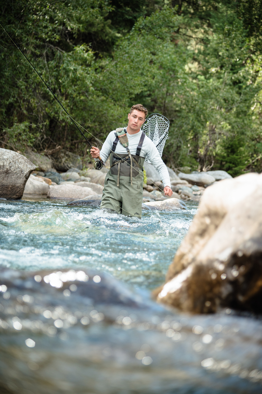 Brecken's Fly Fishing Senior Session