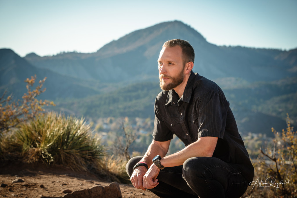 hank blum portrait perrins peak durango colorado