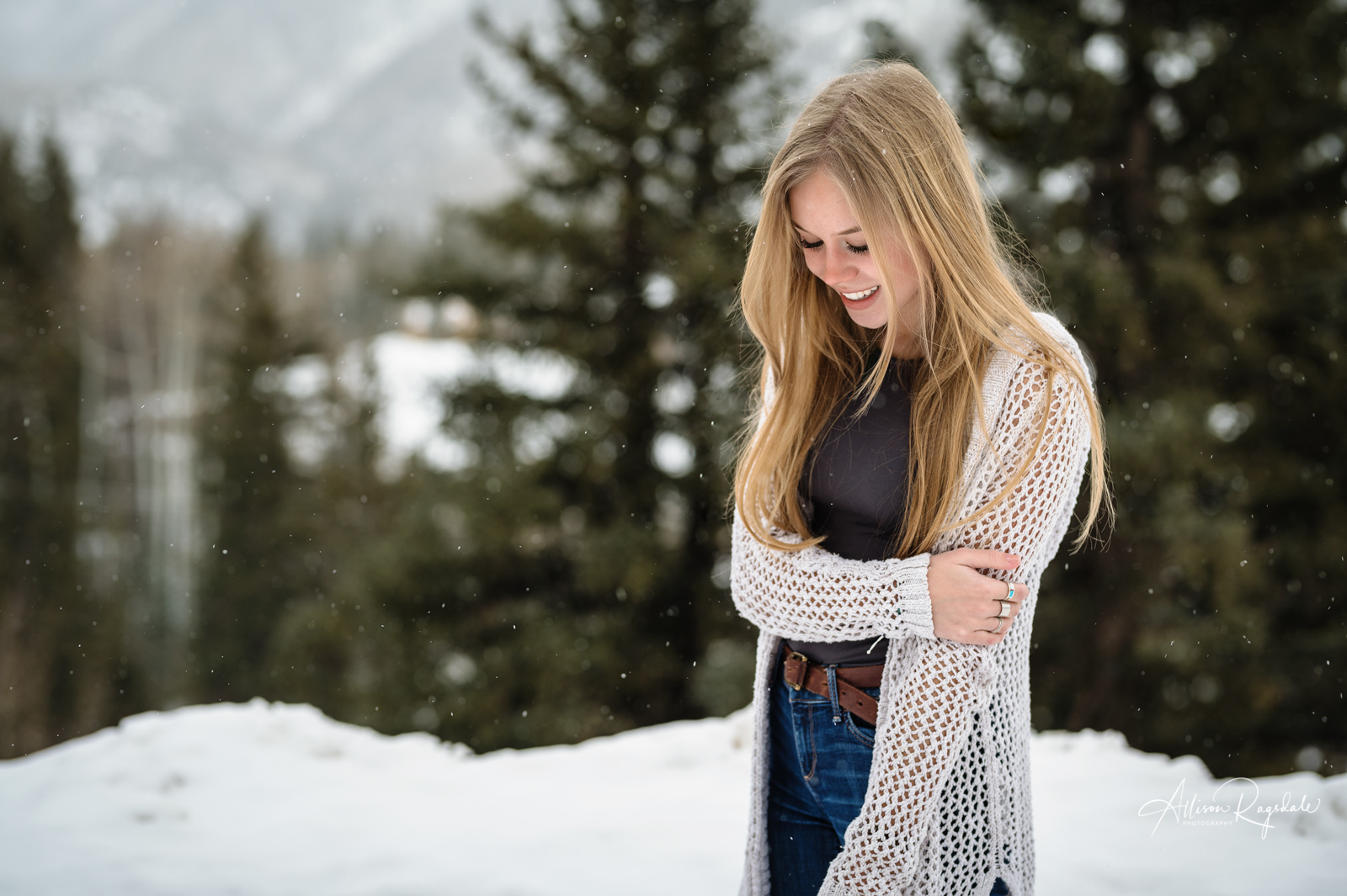 Abbey Hunt's Winter Senior Session