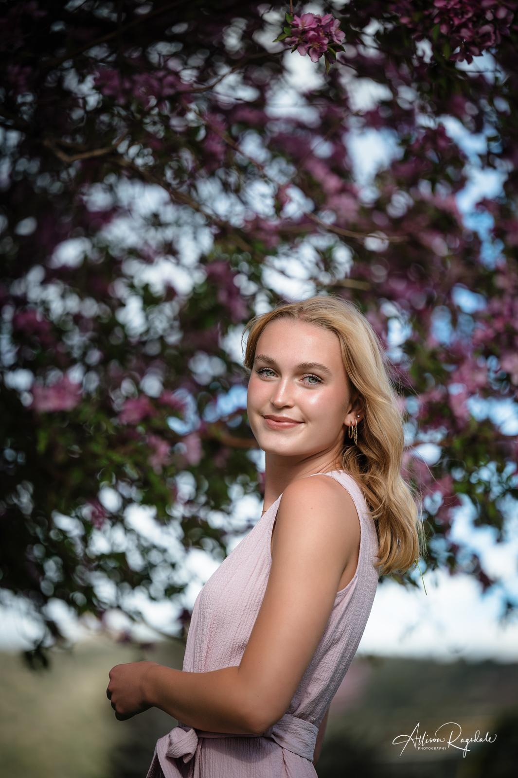 McKenzie's Spring Blossom Class of 2022 Senior Pictures