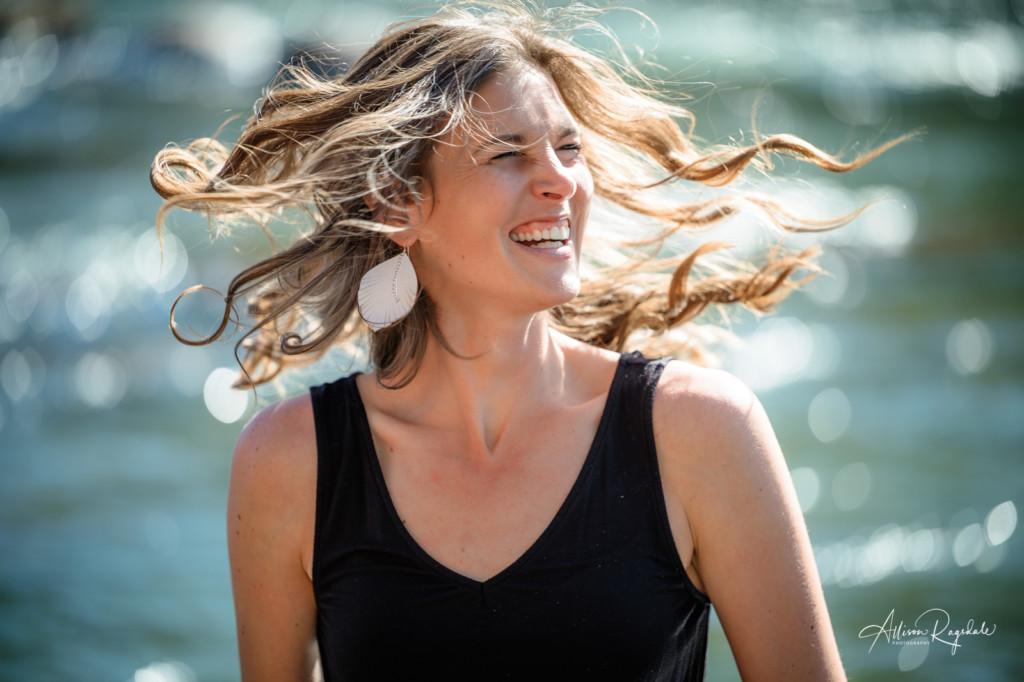 hair flip earring designer maggie emerson animas river durango co