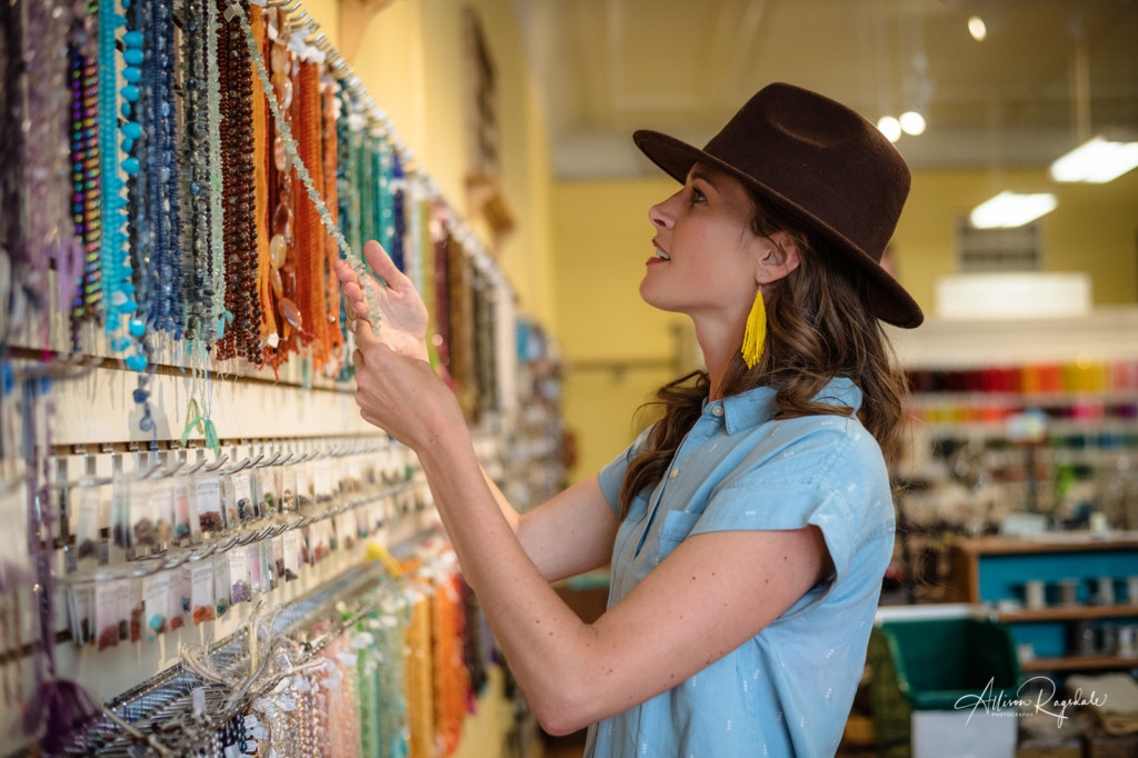 personal brand photo beads and beyond earring maker maggie emerson