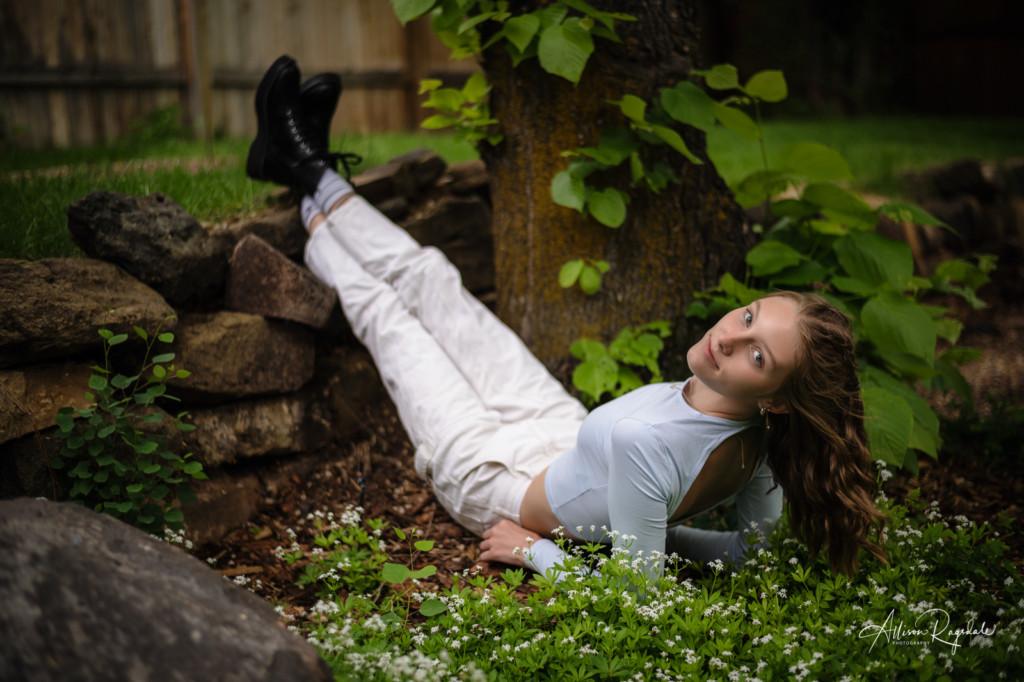 anna class of 2022 spring blooms durango backyard